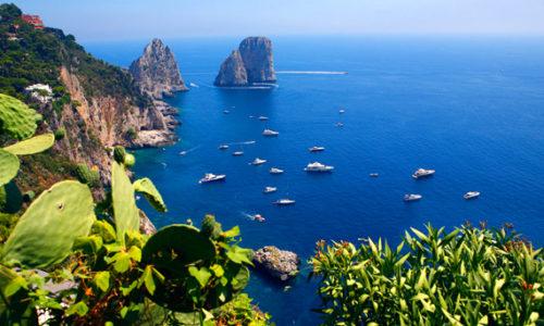 Panorama of Capri